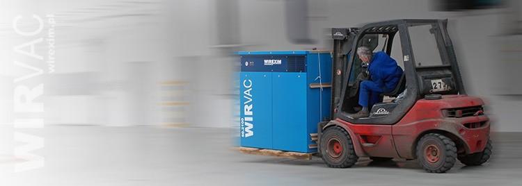 WIRVAC - Odkurzacze przemysłowe