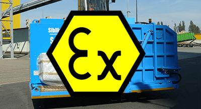 Odkurzacze przemysłowe ATEX