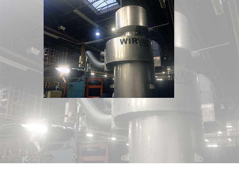 Separatory i pyłofiltry ze stali niedzewniej WIRVAC
